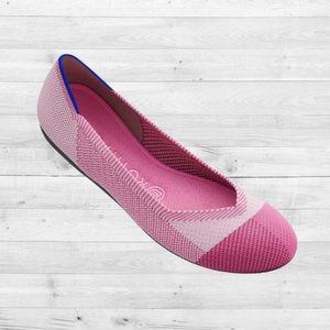 NWOT Rothy's Pink Captoe Breast Cancer Awareness Rare!!